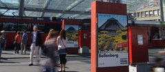 Poster advertising in the heart of Berne – APG makes it happen.