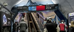 APGISGA Mountain expands digital network in Zermatt: 20 new screens at the heart of the skiing area guarantee maximum attention