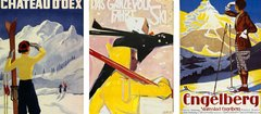Winter in Switzerland: historical tourism posters in the APG|SGA eMuseum