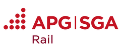 APG|SGA's new segment brand as of 1 July: APG|SGA Rail